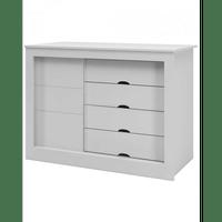 comoda-com-4-gavetas-1-porta-mdf-canaa-moveis-esmeralda-branco-acetinado-51683-0