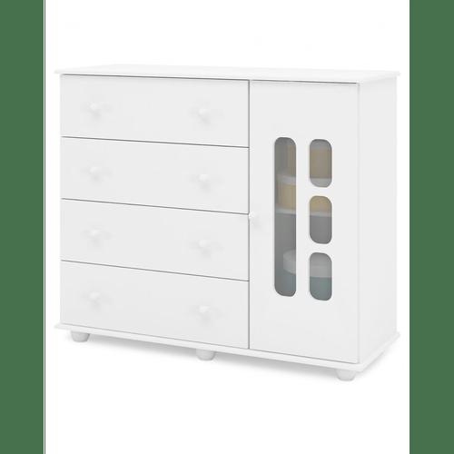 comoda-de-madeira-4-gavetas-1-porta-canaa-moveis-livia-branco-brilho-51687-0