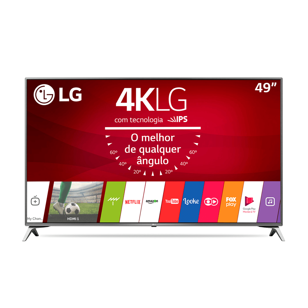 1333599f5 Smart TV LED LG 49
