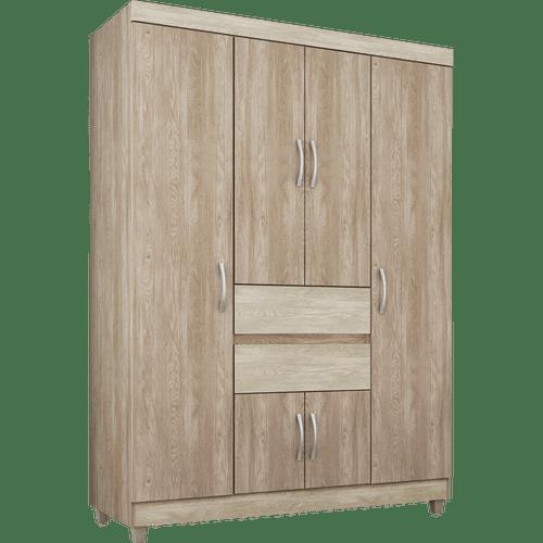 guarda-roupa-6-portas-2-gavetas-demobile-ecom-nogal-vanilla-50635-1