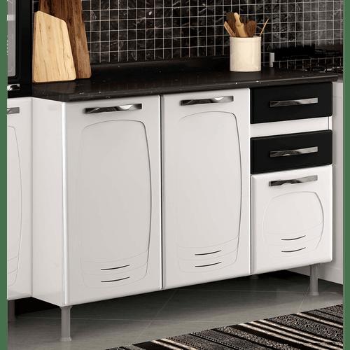 balcao-de-cozinha-em-aco-3-portas-2-gavetas-com-tampo-telasul-perola-branco-preto-51806-0