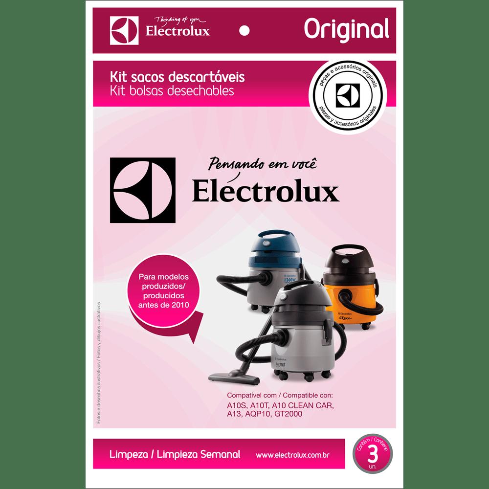 1697bee37 Kit Electrolux, Com 3 Sacos para Aspiradores de Pó, 3.75 Litros ...
