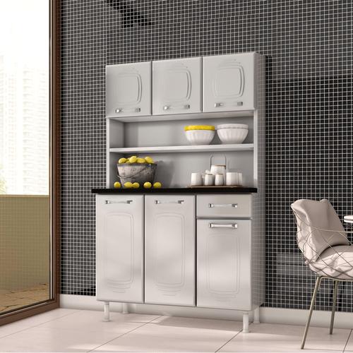 kit-cozinha-em-aco-com-tampo-em-mdp-6-portas-1-gaveta-telasul-novita-branco-51841-0