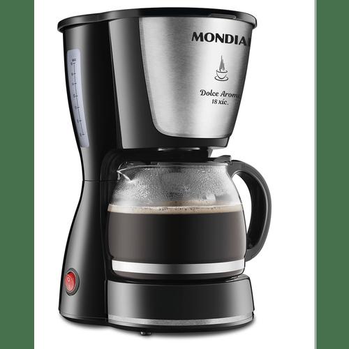 cafeteira-mondial-dolce-arome-18-xicaras-pretoinox-c-30i-110v-55240-0