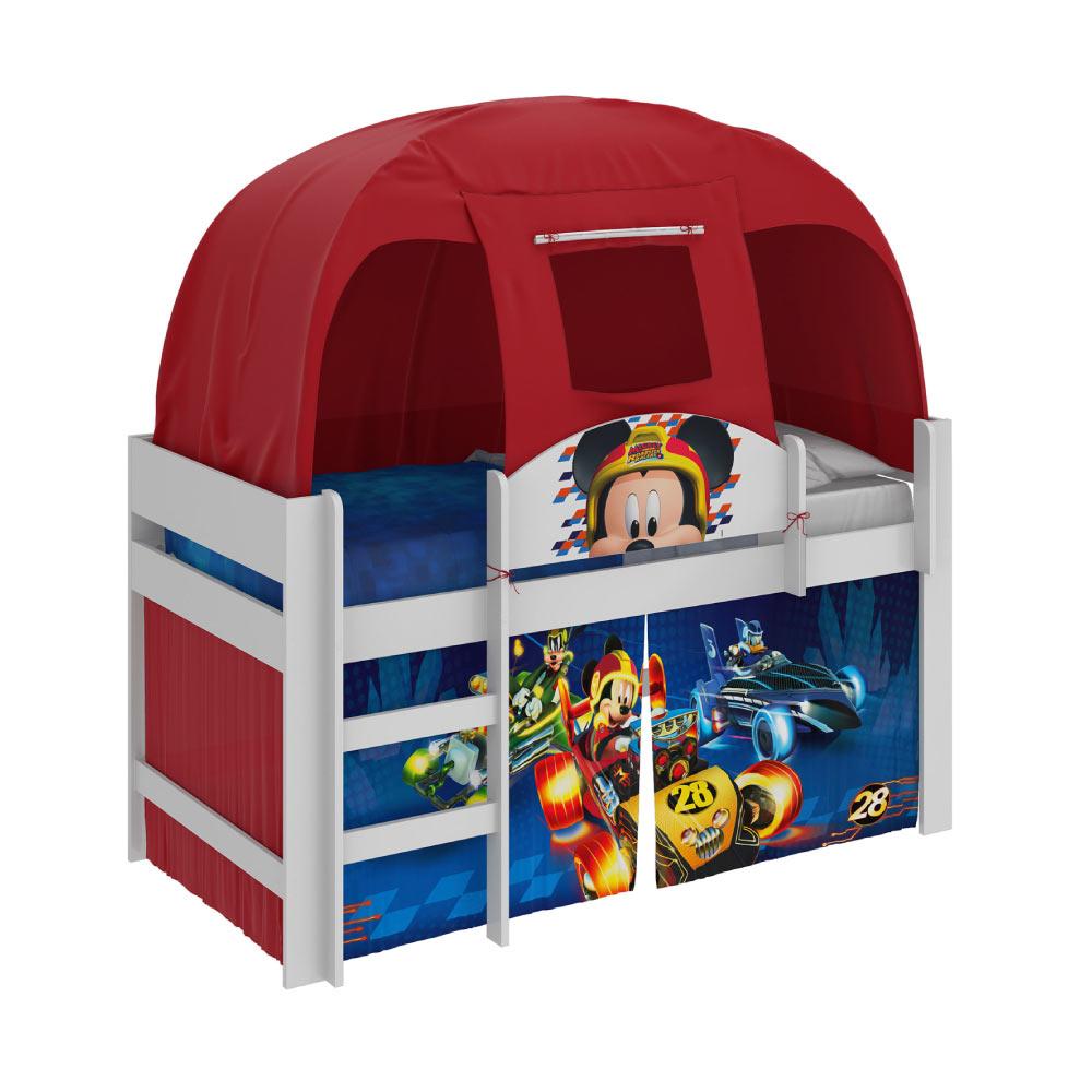 eae287187a Cama Infantil com Barraca Mickey Disney Play - Pura Magia - Novo Mundo