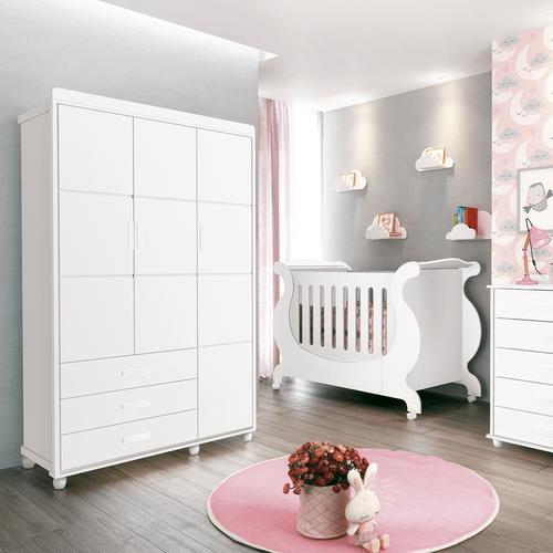 guarda-roupas-de-madeira-3-portas-3-gavetas-6-prateleiras-mdf-fenix-prince-infantil-branco-56375-0