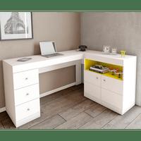 mesa-de-estudo-em-mdp-2-portas-3-gavetas-lider-design-job-branco-amarelo-52160-0