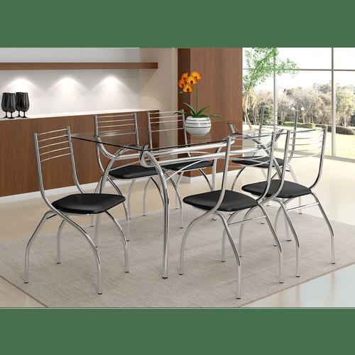 mesa-de-jantar-em-tubos-de-aco-tampo-em-vidro-6-cadeiras-carraro-bolonha-cromado-preto-57160-0