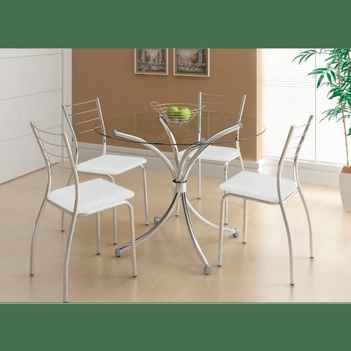mesa-de-jantar-com-4-cadeiras-tampo-em-vidro-tecido-napa-carraro-verona-cromado-branco-57162-0