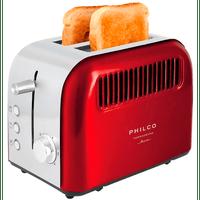 torradeira-philco-retr-funo-descongelar-6-nveis-de-tostagem850w-vermelho-ptr02v-110v-67038-0