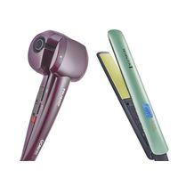 ab6b568e7 Modelador De Cachos Hair Styler Conair + Prancha Shine Therapy 2x Remington  -   127v