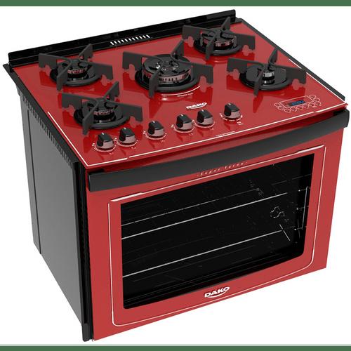 fogao-5-bocas-de-embutir-dako-turbo-glass-vermelho-dakolors-de5vtp-ht0-bivolt-57717-0