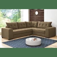 Sofa Com Chaise De Canto Retratil E Mais Novo Mundo