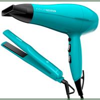 kit-secador-e-prancha-gama-italy-2000w-verde-aqua-therapy-220v-68676-0