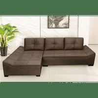 sofa-com-chaise-3-lugares-tecido-sued-montreal-ravello-tabaco-57015-0