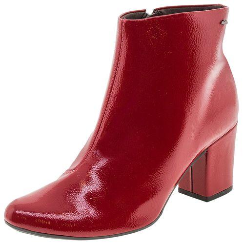 d8ce894eef Bota Feminina Cano Baixo Vermelha Dakota - G0011 - Novo Mundo