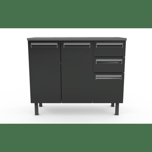 gabinete-de-aco-colormaq-1-portas-3-gavetas-com-rodizio-cozinha-moderna-cinza-grafite-gabinete-de-aco-colormaq-1-portas-3-gavetas-com-rodizio-cozinha-moderna-cinza-grafite-58405-0