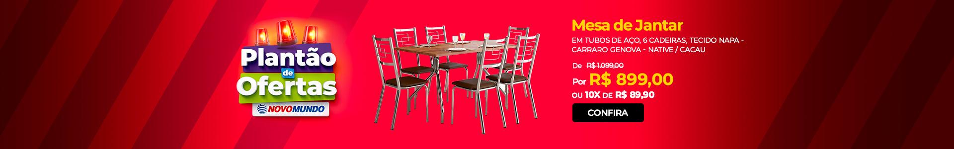 Plantão | Mesa de Jantar