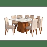 mesa-de-jantar-com-8-cadeiras-serenas-tecido-suede-dj-moveis-italia-terrara-off-linho-saara-58550-0