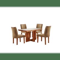 mesa-de-jantar-4-cadeiras-com-tecido-suede-170x90cm-lj-moveis-atuale-castanho-off-whitw-58505-0