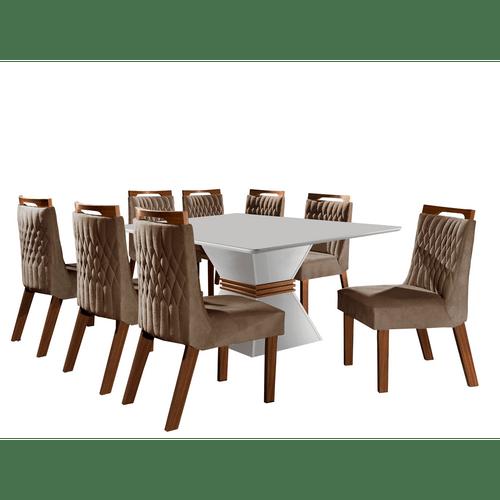 mesa-de-jantar-em-mdf-com-8-cadeiras-tecido-pena-lj-moveis-cronos-branco-castanho-premio-caramelo-57157-0