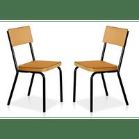 conjunto-de-cadeiras-vinil-em-aco-novo-mundo-preto-amarelo-59070-0