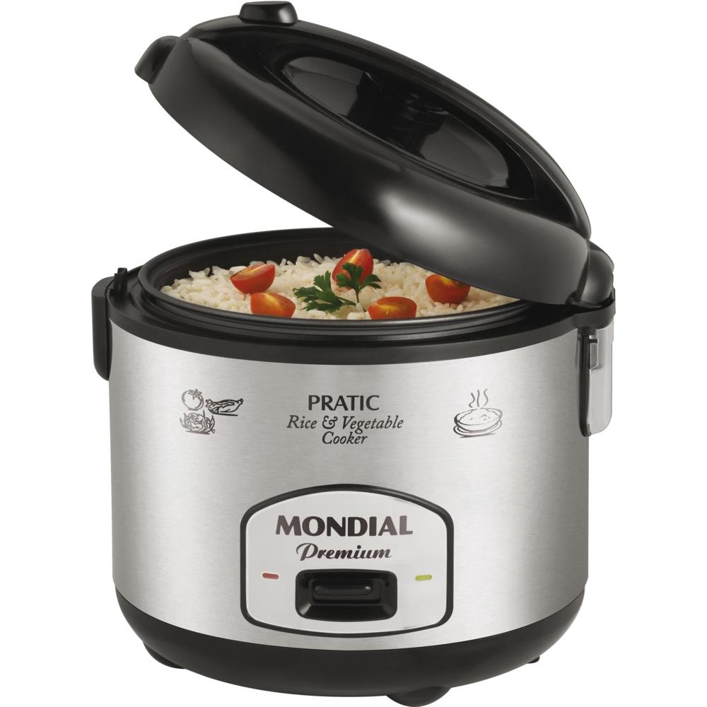 3736e3146 Panela Elétrica de Arroz Mondial Cooker Premium