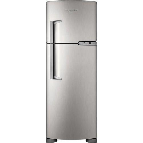 Geladeira / Refrigerador Brastemp Clean Duplex, Frost Free, 352L, Inox - BRM39ER