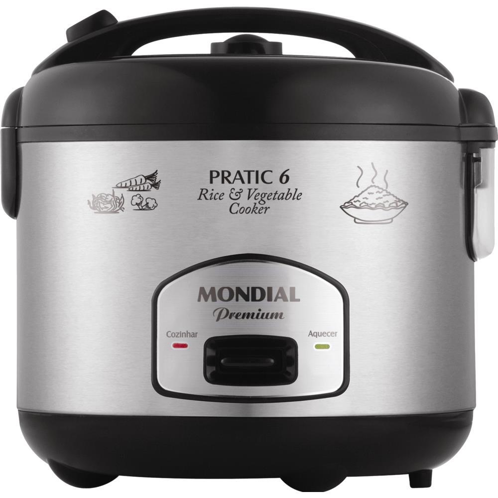 82c97501c Panela Elétrica de Arroz Mondial Pratic Rice - PE-02 - Novo Mundo