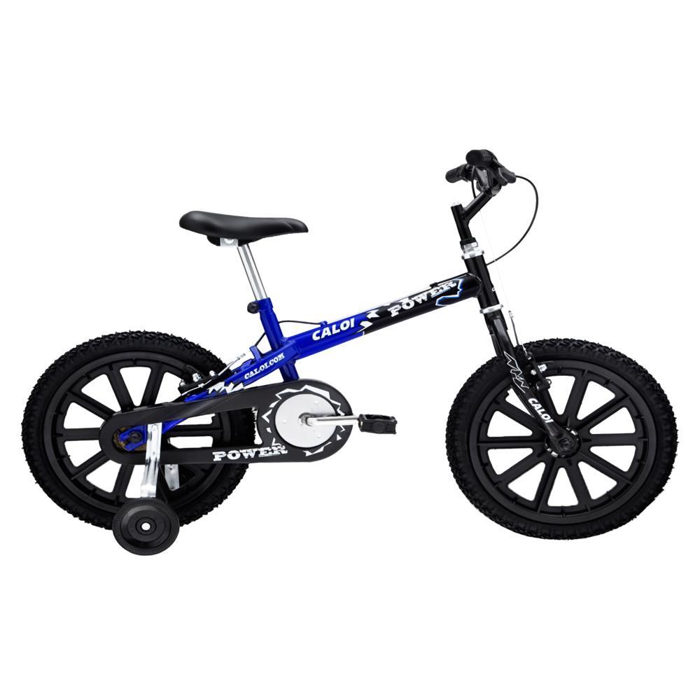 b9771a8c2 Bicicleta Aro 16 Caloi Power Preto   Azul