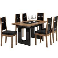 mesa-de-jantar-6-cadeiras-carvalho-dourado-tecido-preto-estampado-lopas-iara-mesa-de-jantar-6-cadeiras-carvalho-dourado-tecido-preto-estampado-lopas-iara-29333-0png