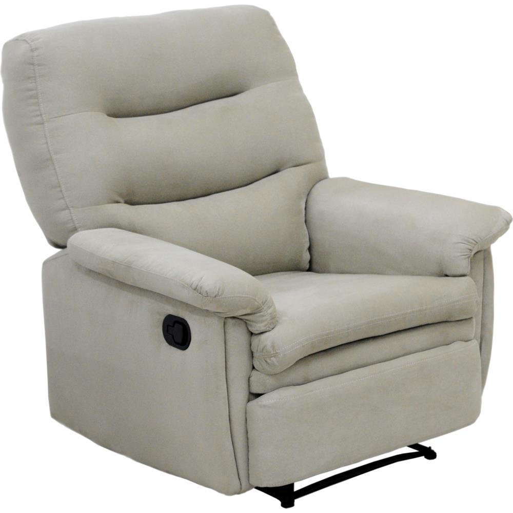 Poltrona reclin vel tecido suede legacy cannes novo mundo for Sala de estar png