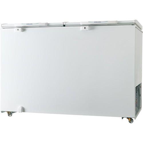 Freezer Horizontal Electrolux 2 Tampas, 385L, Branco - H400