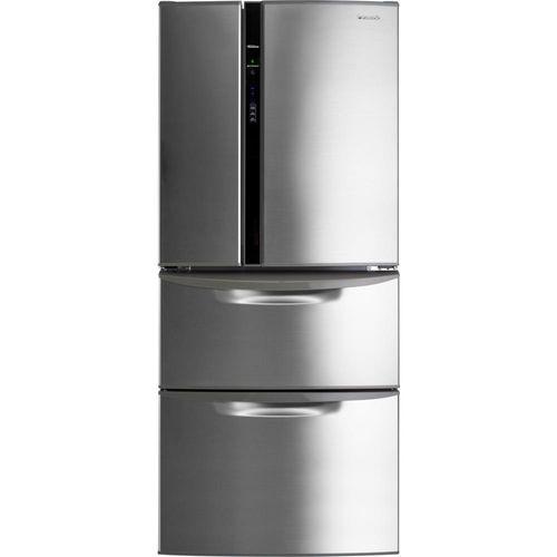 Geladeira / Refrigerador Panasonic Duplex, Frost Free, 432L, Inox - NRD513YZS3