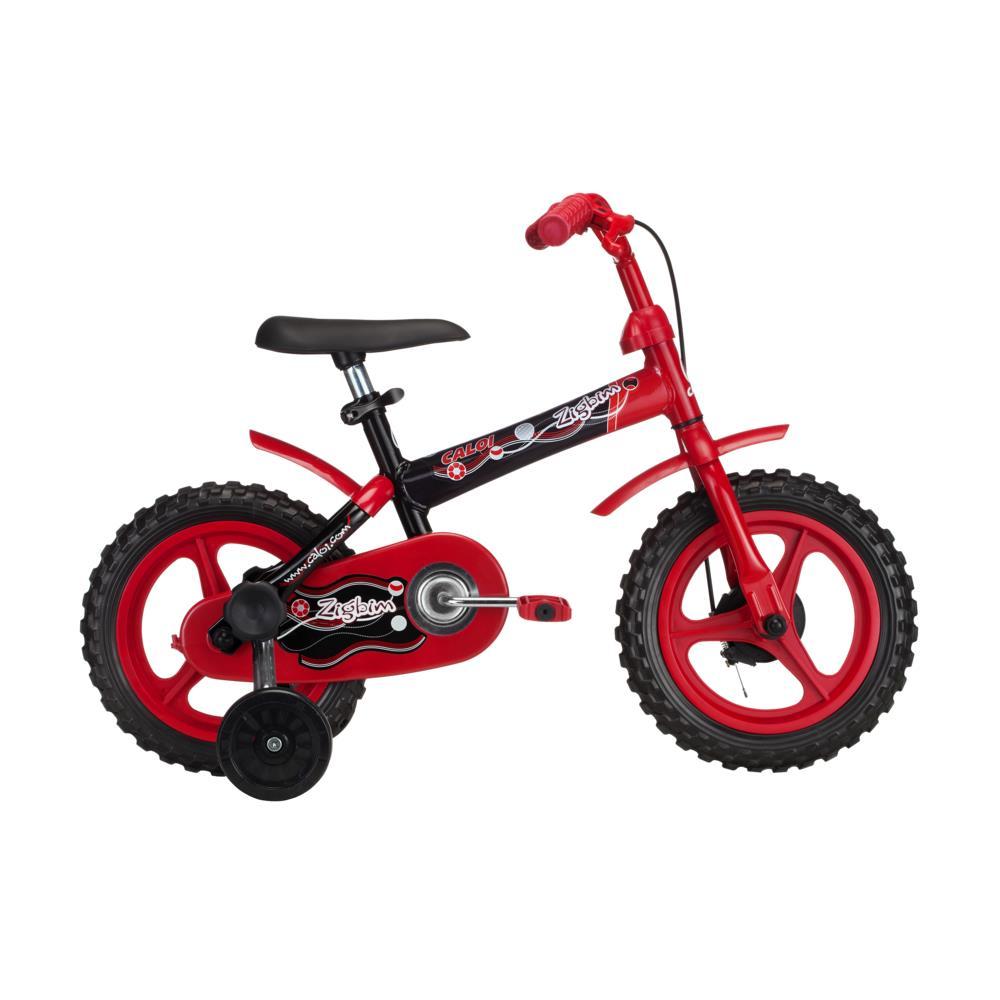 311b9a426 Bicicleta Aro 12 Caloi Zigbim Vermelho