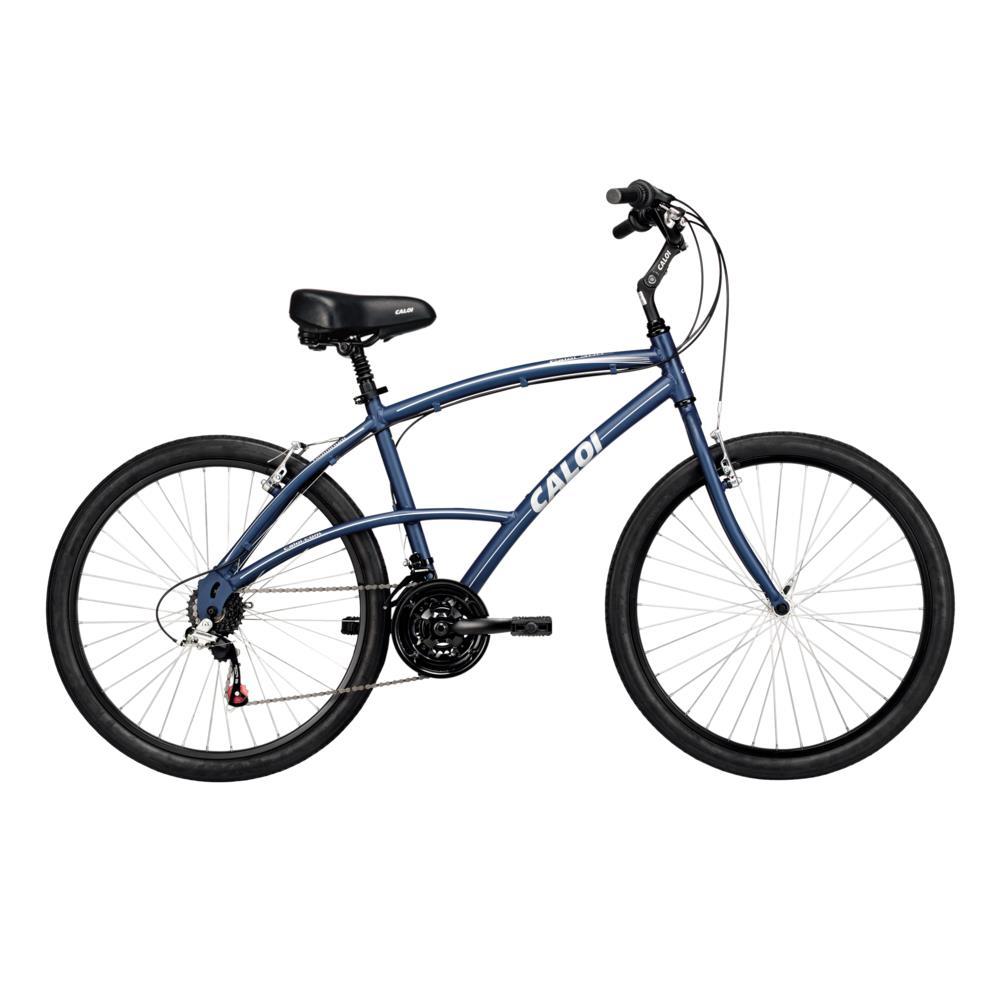 Bicicleta Aro 26 Caloi 300 Azul Petroleo, 21 Marchas