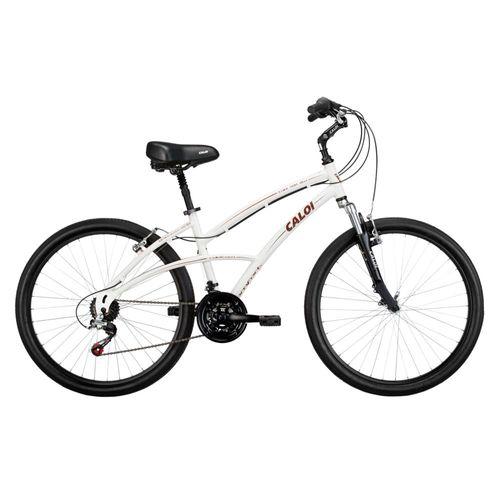 245052cbb Bicicleta Aro 26 Caloi 500 Branco