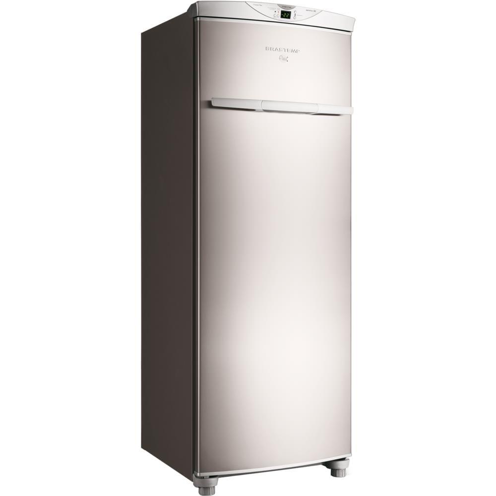 Freezer Vertical Brastemp Frost Free 228l Alarme Sonoro Inox