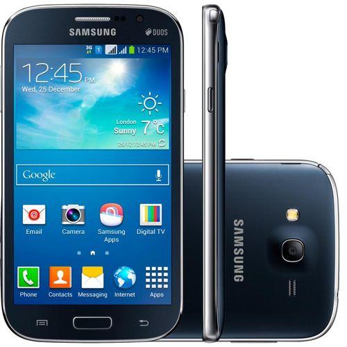 Smartphone Samsung Galaxy Gran Dual Chip Neo Com Tv Preto - I9063