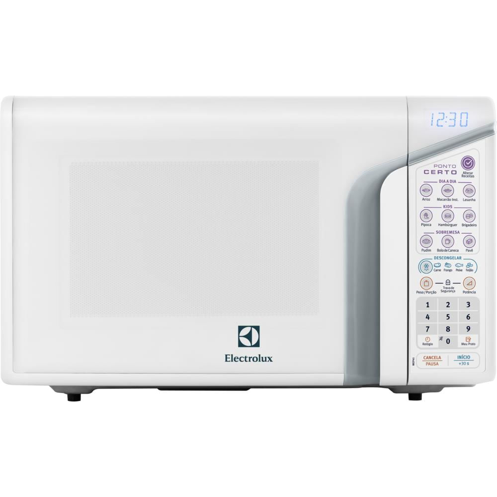 c282babe6 Micro-ondas Electrolux 31 Litros Branco - MEP41 - Novo Mundo