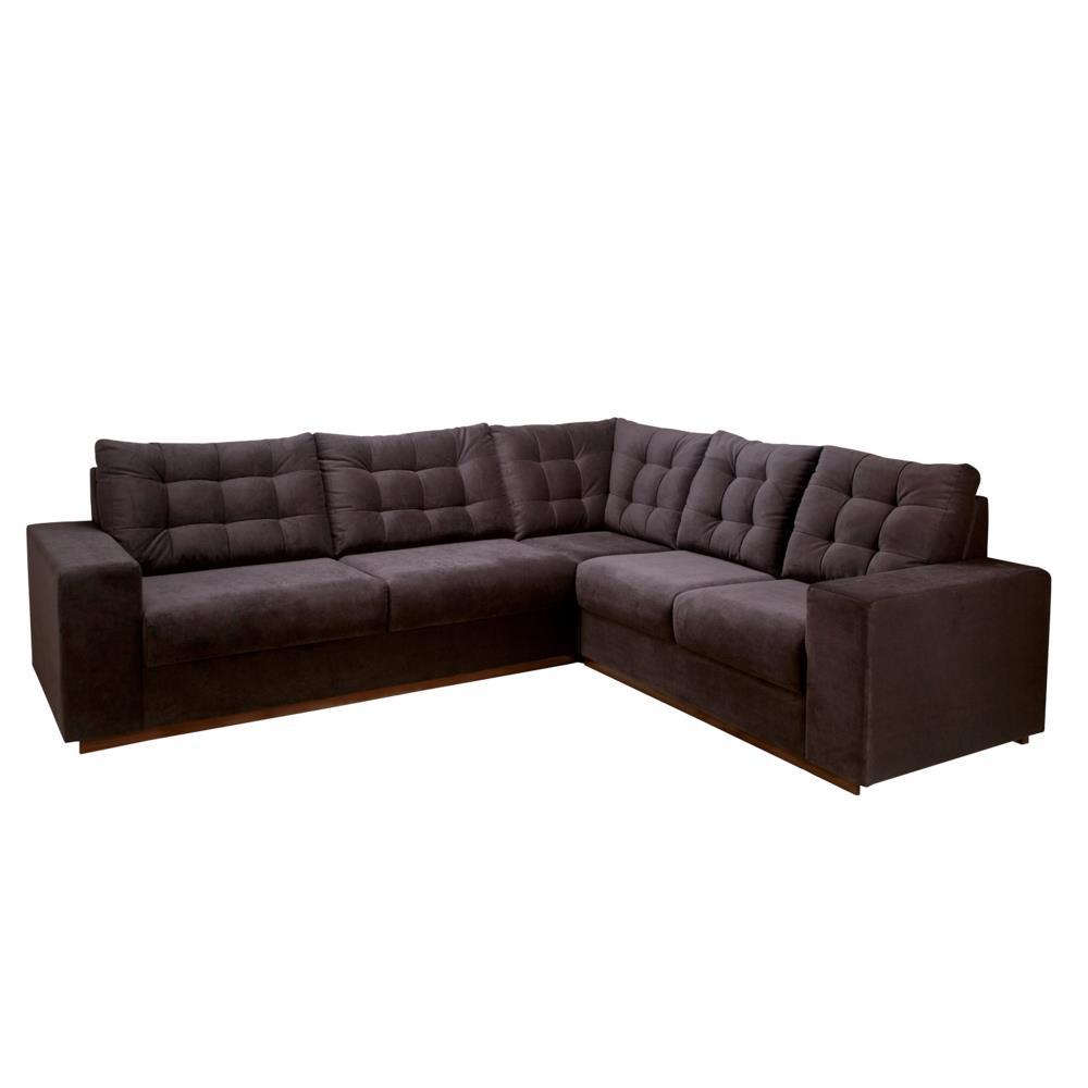 Sof de canto 2 e 3 lugares tecido herval mh4081 novo - Medidas de sofas 3 2 ...