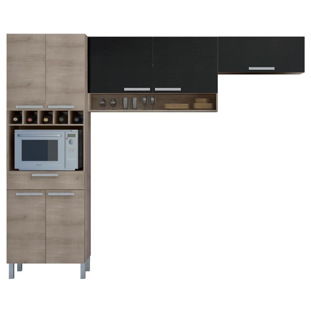 Cozinha Compacta 3 Pe As Nesher Monalisa Compacta Novo Mundo