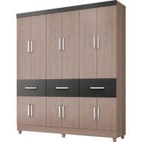 guarda-roupa-12-portas-3-gavetas-demobile-atlanta-carvalho-mosaico-grafite-36111-0png