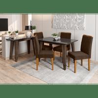 conjunto-sala-em-mdf-4-cadeiras-120-x-80-cm-jadeisabela-c02-castanho-preto-61262-0