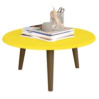 mesa-de-centro-redonda-mdf-com-pes-59x35cm-brilhante-amarelo-61123-0