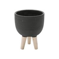 vaso-decorativo-round-stripes-da-urban-pe-de-madeira-concreto-preto-42760-vaso-decorativo-round-stripes-da-urban-pe-de-madeira-concreto-preto-42760-60066-0