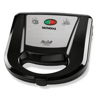 sanduicheira-e-grill-mondial-mac-grill-antiaderente-inoxpreto-s11-110v-61405-0