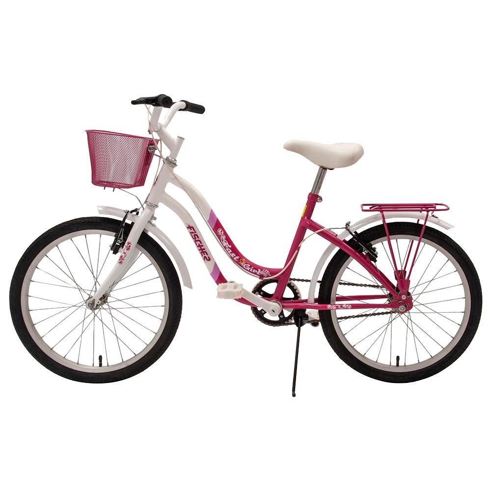 6d4aa2a49 bicicleta-aro-20-fischer-fast-girl-com-cestinha ...