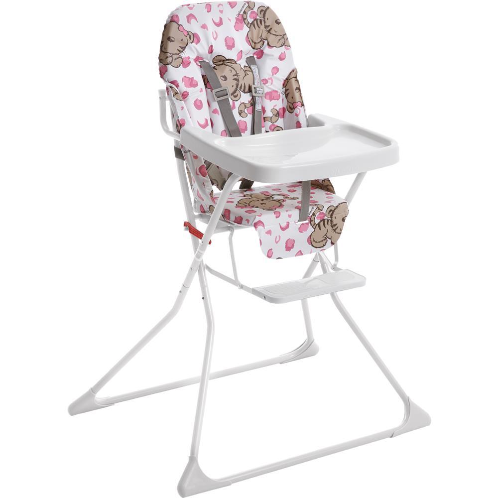 9c7dea71c4 Cadeira de Refeição Alta Standard Tigrinha - Galzerano 5015 - Novo Mundo