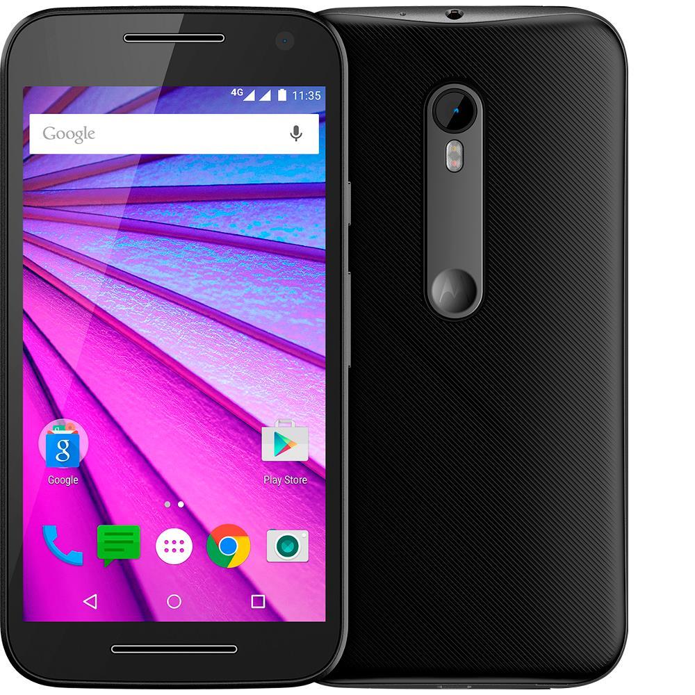 Smartphone Motorola Moto G 3º Geração, Dual, Preto ...